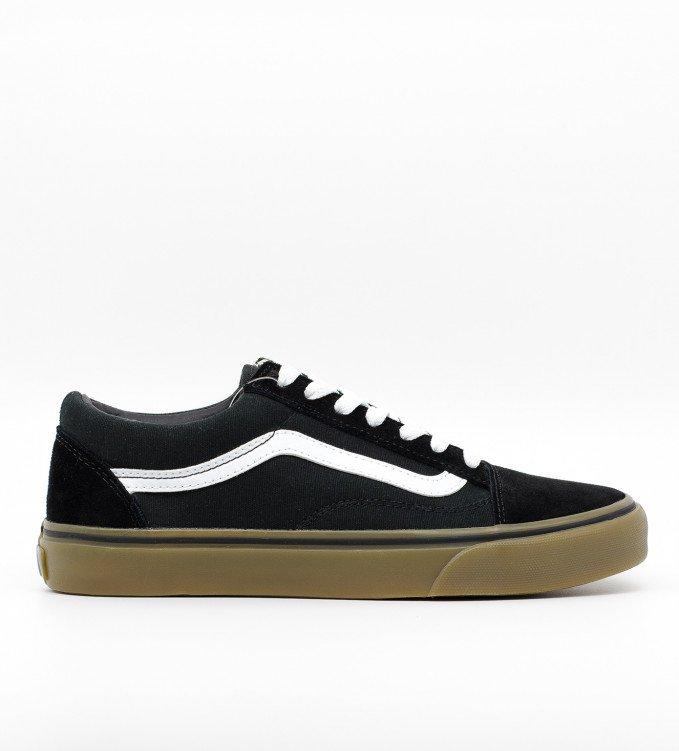 Vans Old School Brown-Black Suede