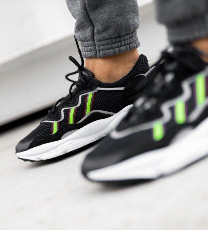 Adidas Ozweego Core-Black-Green