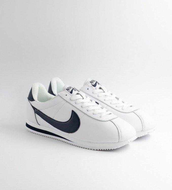 Nike Cortez White-Navy