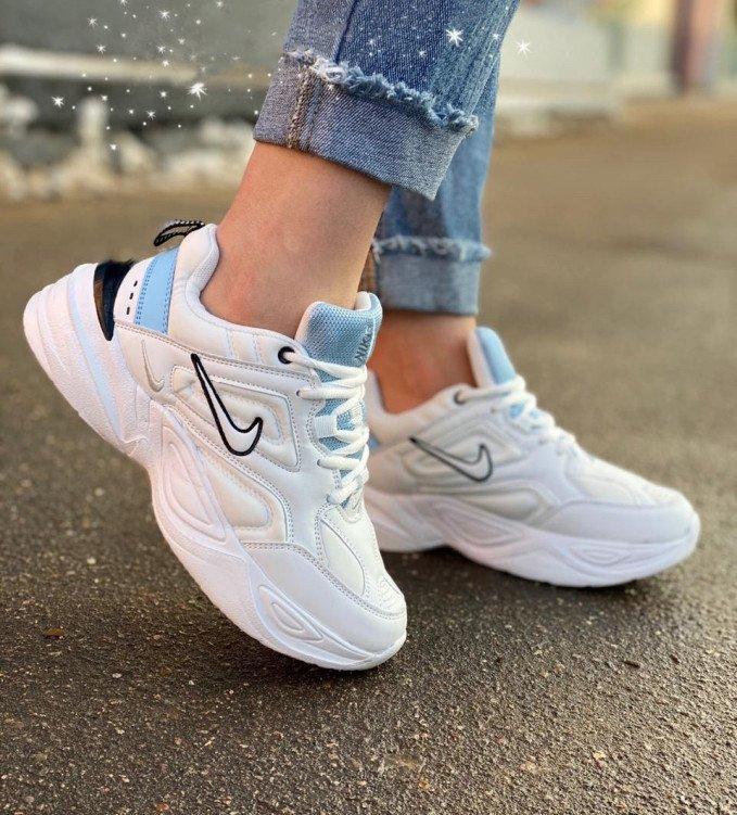 Nike Air M2K White-Cyan