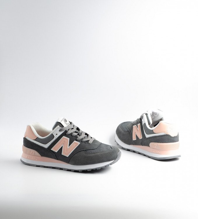 New Balance 574 Peach-Grey