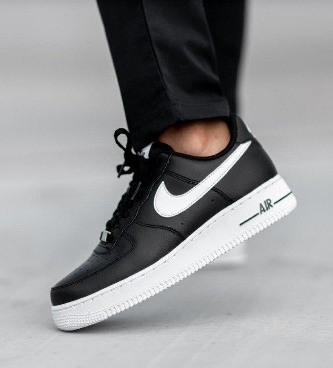 Nike Air Force 1 Black-White