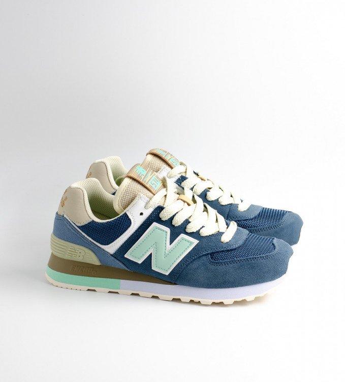 New Balance 574 Blue-Mint