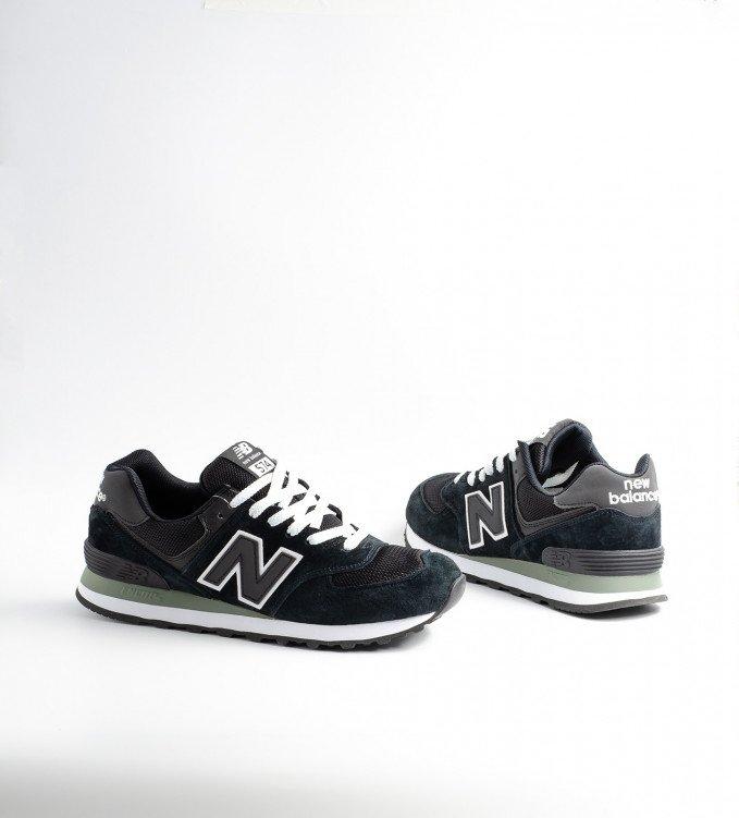 New Balance 574 Black-white