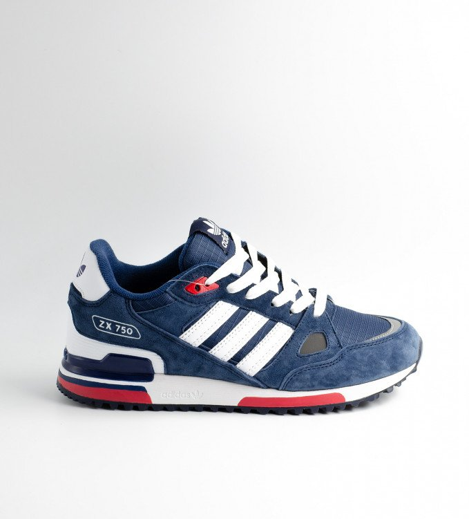 Adidas ZX750 Blue-Red